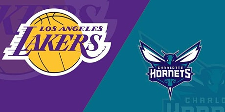 ONLINE@!. New Charlotte Hornets v Los Angeles Lakers LIVE ON fReE 2021 tickets