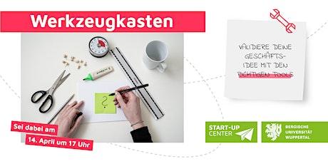Werkzeugkasten - Validiere deine Geschäftsidee mit den richtigen Tools Tickets