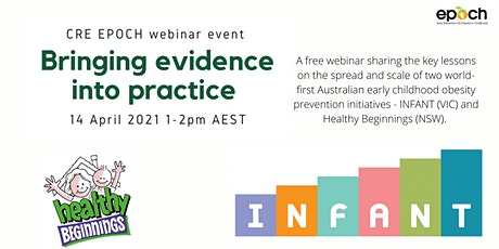 Bringing evidence into practice: Two early obesity prevention initiatives tickets