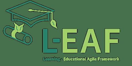 L-EAF.org Educational Agility Open Community Cohort tickets