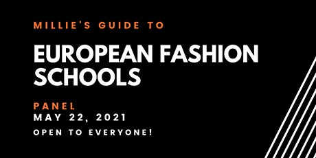 PANEL | Millie's Guide to European Fashion Schools tickets