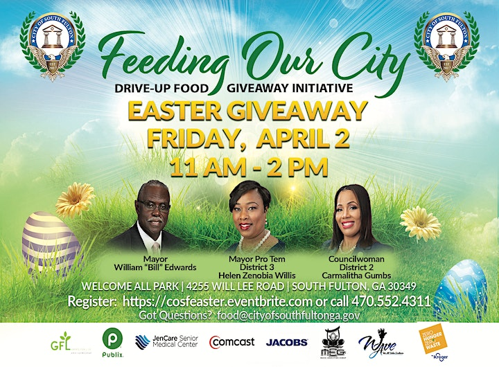 City of South Fulton Easter Food Giveaway image