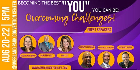 "Becoming the Best ""YOU"" You Can Be: Overcoming Challenges tickets"