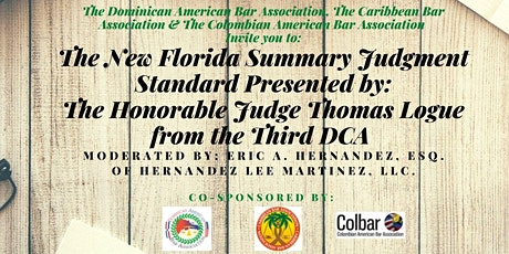 Seminar on the New Florida Summary Judgment Standard tickets