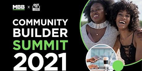 Community Builders Summit tickets