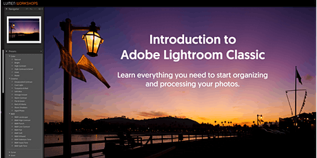 Get Started with Adobe Lightroom Classic tickets