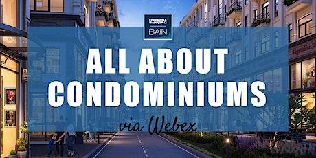 CB Bain |  All About Condominiums (3 CE-WA) | Webex | Oct 28th 2021 biglietti