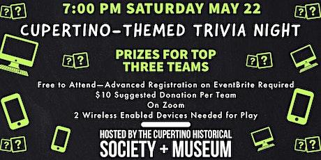 Cupertino-Themed Trivia Night tickets