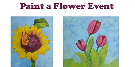 Paint a Flower Make and Take Event tickets