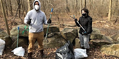 Cleanup at Croton Point Park