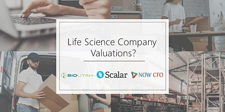 Life Science Company Valuations - A webinar by NOW CFO, Scalar & Bio Utah tickets