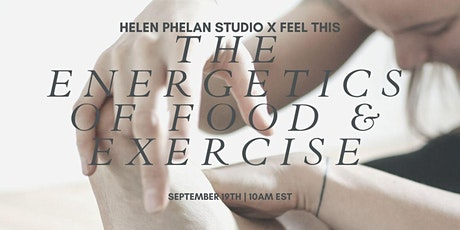 The Energetics of Food + Exercise with Kara Griffin tickets