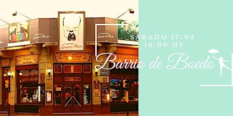 Barrio de Boedo - Visita Guiada entradas