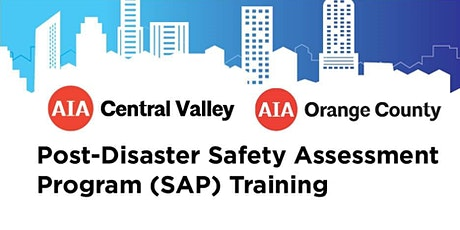 Post-Disaster Safety Assessment Program (SAP) Training tickets