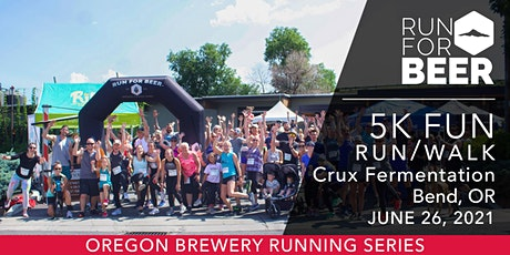 Beer Run - Crux Fermentation | 2021 OR Brewery Running Series tickets
