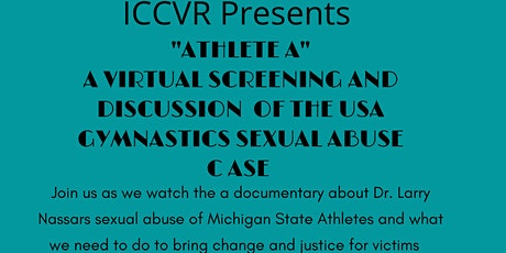 """Athlete A"" Documentary Virtual Screening w/ Expert Panel Discussion tickets"