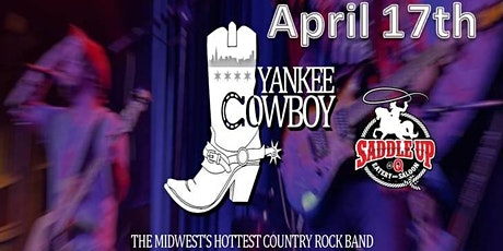 YANKEE COWBOY -  The Midwest's hottest country rock band! tickets