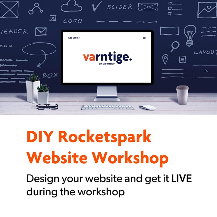 DIY Rocketspark Website Workshop - 8th June image
