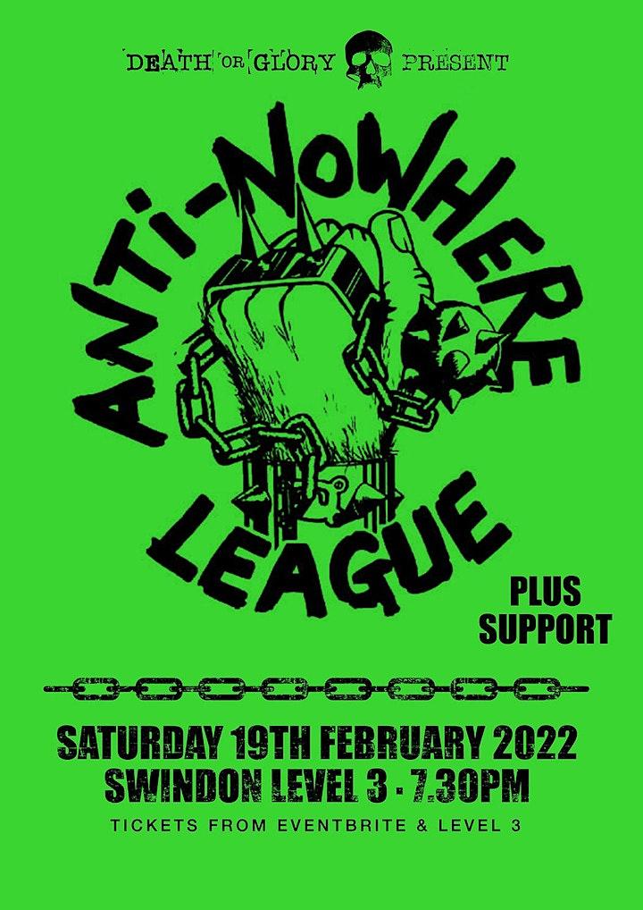 Anti-Nowhere League at Level 111 Swindon image