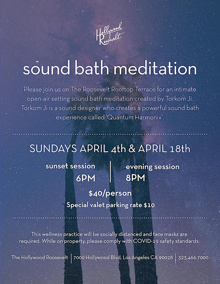 Sound Bath Meditation image