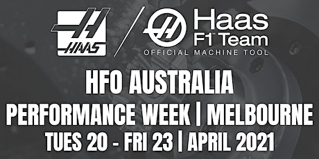 HFO Australia Performance Week - Melbourne 2021 tickets