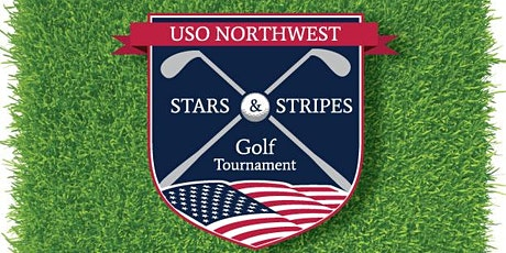 Military Golfer sign up 2021 USO Northwest Stars & Stripes Golf Tournament tickets