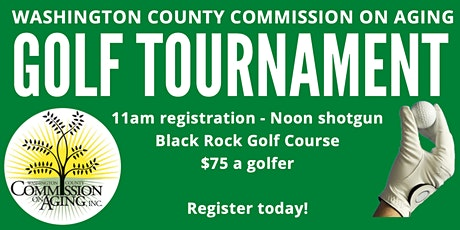 Washington County Commission on Aging Golf Tournament tickets