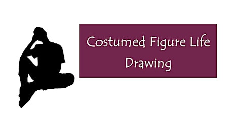 Costumed Figure Life Drawing in July tickets