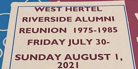 West Hertel Middle and Riverside High School Reunion tickets
