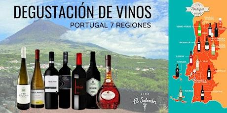 Degustación de Vinos de Portugal - 7 Vinos 7 Regiones entradas