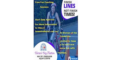 Women's Only Triathlon.... Come Tri Triathlon tickets