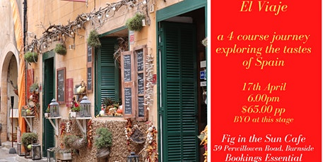 El Viaje - A Culinary Journey to Spain tickets
