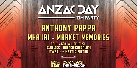 Anzac Day 12h Party - Eat The Beat tickets