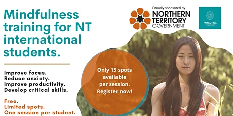 Mindfulness Training for NT International Students tickets