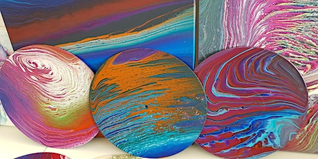 Fluid Art Experience - 'Ring Pour' (Paint and Sip) tickets