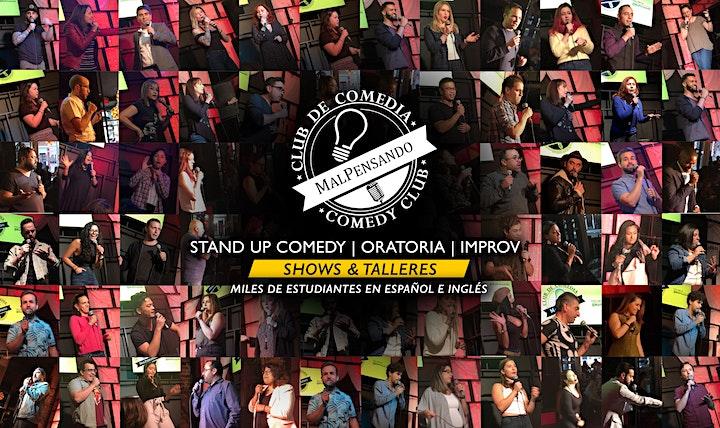 Oratoria a través de la Comedia | Nivel 1 | Taller (Online) image