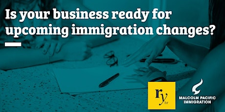 Immigration changes & HR in 2021 - Whanganui tickets