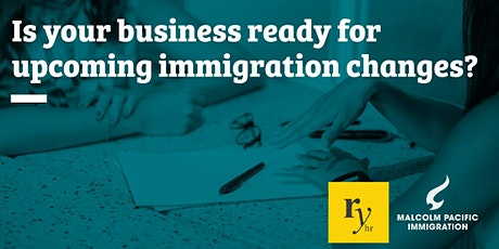 Immigration changes & HR in 2021 - Palmerston North tickets