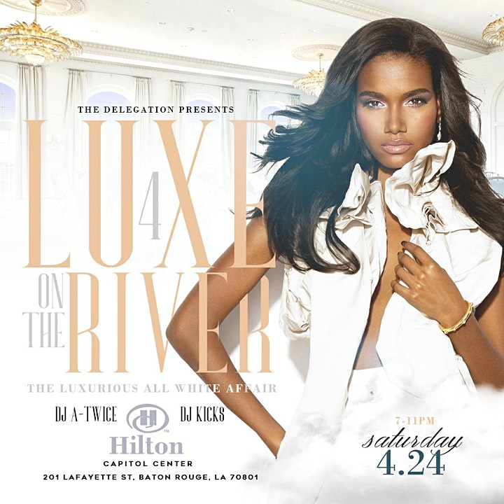 Luxe on the River: The Luxurious All White Affair 4 image