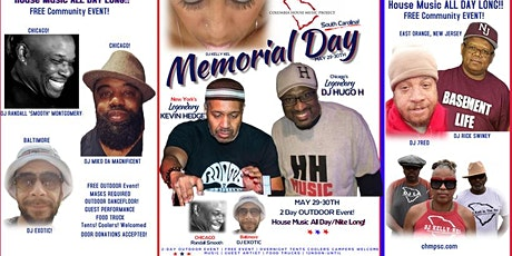HOUSE MUSIC Memorial Day Weekend tickets