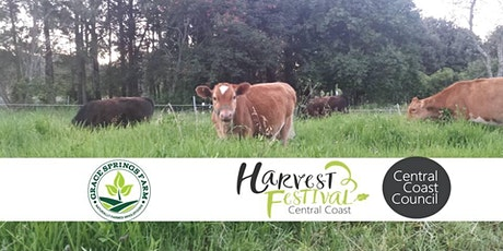 Central Coast Harvest Festival 2021 - Grace Springs Farm Tour tickets