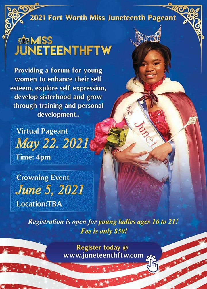 Miss Juneteenth Pageant 2021 image