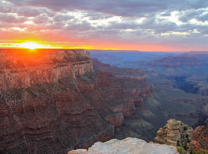 Sunset Tour of the Grand Canyon image