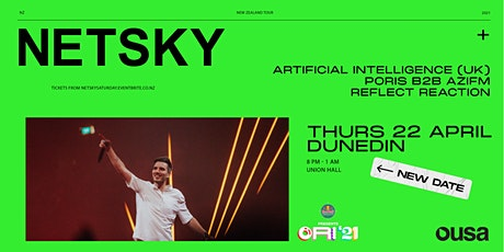 NETSKY - Artificial Intelligence (UK), Poris b2b Azifm &  Reflect Reaction tickets