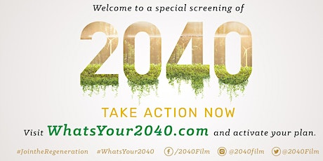 2040 Movie - Living Green Launch tickets