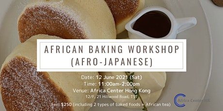 Afro Japanese Baking Workshop tickets