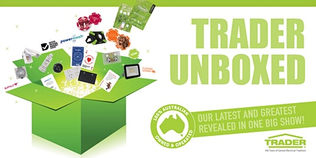 TRADER UNBOXED - MELBOURNE EAST tickets