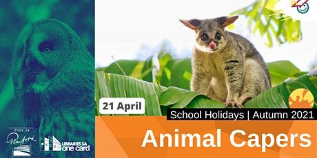 Autumn School Holidays: Animal Capers tickets