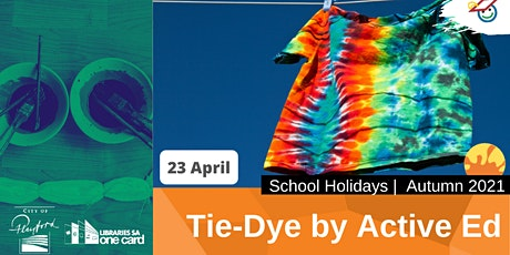 Autumn School Holidays: Tie-Dye with Active Education tickets