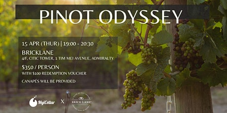 Pinot Odyssey tickets